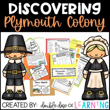 Plymouth Colony Research with PowerPoint Unit