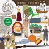 Plymouth Colony Clip Art