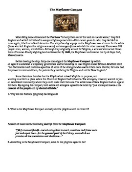 Plymouth Colony and Mayflower Compact