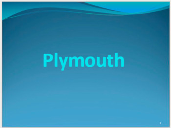 Plymouth Power Point (27 slides)