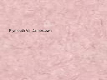 Plymouth VS Jamestown PowerPoint