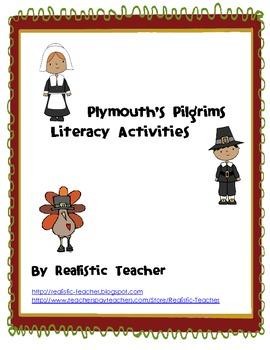 Plymouth's Pilgrims Literacy Activities