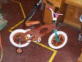Plywood bicycle photo