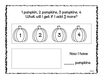 Pumpkin Poem and Simple Addition