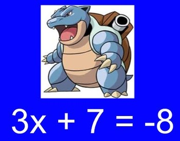 PoKeMon Go Equation Review