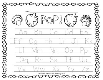 PoP!-ABC Letter Game