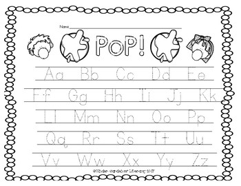 PoP!-ABC Letter Game