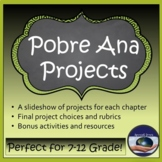 Pobre Ana - Chapter & Final Projects and BONUS Material