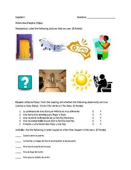 Pobre Ana Chapter 3 Quiz
