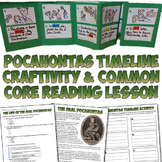 Pocahontas Accordion Timeline Project and Reading Activity