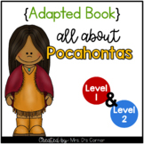 Pocahontas Adapted Book [Set of 2] | Famous Women in History