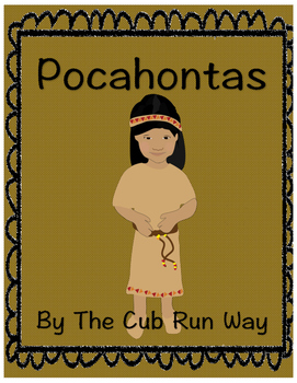 Pocahontas Biography book and review sheets