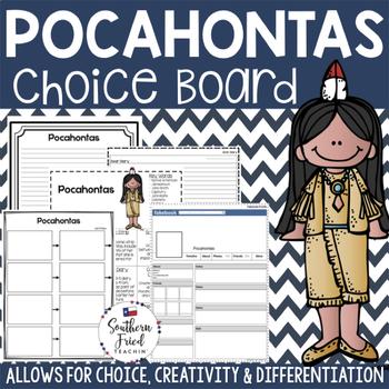 Pocahontas Choice Board