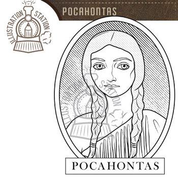 Pocahontas Clip Art