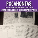 Pocahontas: Close Reading Text Facts and Myths