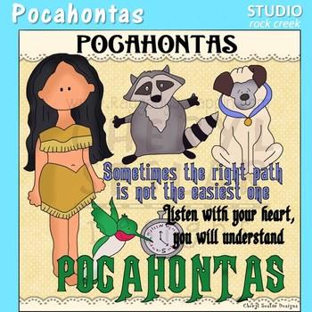 Pocahontas Fable Clip Art C. Seslar