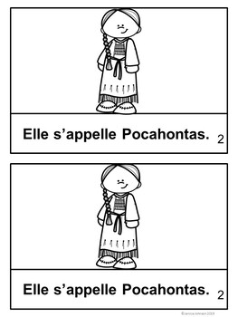 Pocahontas French Reader ~ Simplified for Language Learners