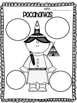 Pocahontas Graphic Organizer