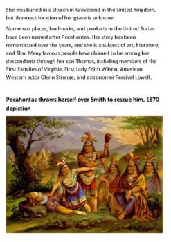 Pocahontas Handout
