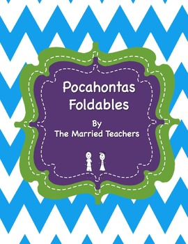 Pocahontas Interactive Historical Figure Foldables