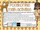 Pocahontas Math for Kindergarten