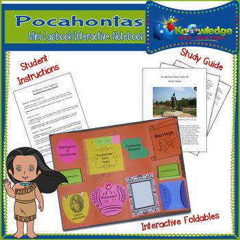 Pocahontas Mini-Lapbook