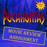 Pocahontas Movie Review Assignment