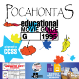 Pocahontas Movie Guide | Questions | Worksheet (G - 1995)