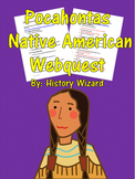 Pocahontas Native American Webquest