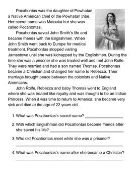 Pocahontas One Sheeter