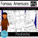 Pocahontas Packet- NO PREP Mini Unit {Famous Americans}