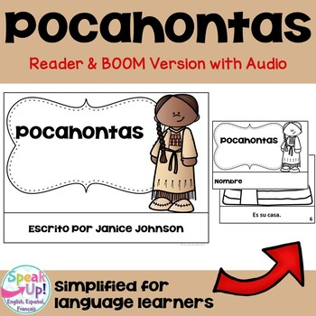 Pocahontas Spanish Reader ~ Simplified for Language Learners