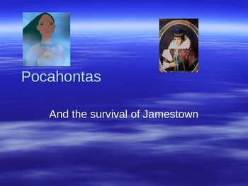Pocahontas and Jamestown Powerpoint