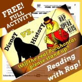 True Story of Pocahontas Reading Comprehension with Multiple Choice Qs. and Song