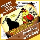 FREE Pocahontas Reading Comprehension Passage Activities U