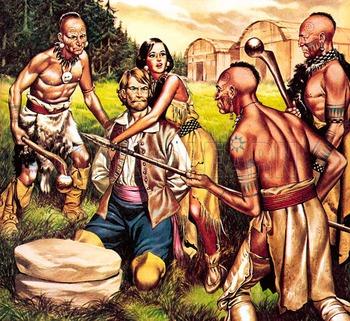 Play: Pocahontas saves John Smith