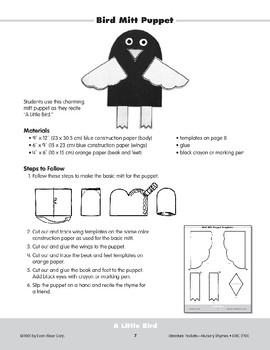 Pocket 01: A Little Bird (Nursery Rhymes)