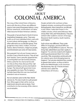 Pocket 01: An Introduction (Colonial America)