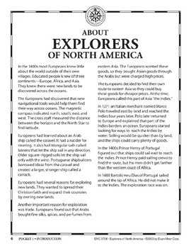 Pocket 01: An Introduction (Explorers of North America)