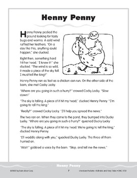 Pocket 01: Henny Penny (Folktales and Fairy Tales, 2-3)