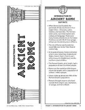 Pocket 01: Introduction (Ancient Rome)