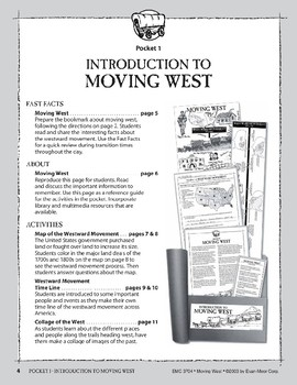 Pocket 01: Introduction (Moving West)