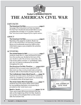 Pocket 01: Introduction (The American Civil War)