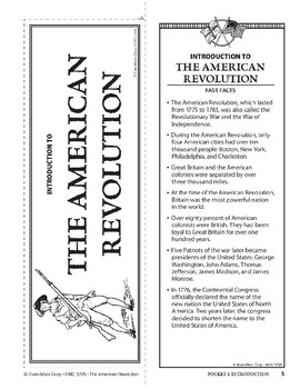Pocket 01: Introduction (The American Revolution)
