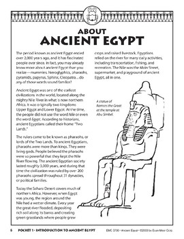 Pocket 01: Introduction to Ancient Egypt (Ancient Egypt)