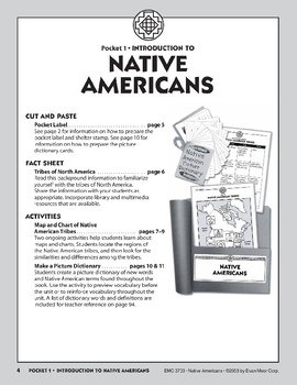 Pocket 01: Introduction to Native Americans (Native Americans)
