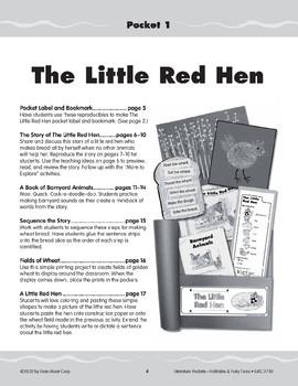 Pocket 01: Little Red Hen (Folktales and Fairy Tales, K-1)