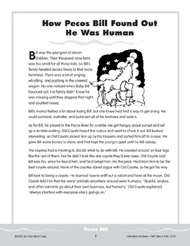 Pocket 01: Pecos Bill (How He Found Out He Was Human) (Tall Tales)