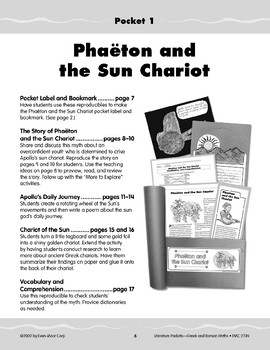 Pocket 01: Phaeton and the Sun Chariot (Greek and Roman Myths)