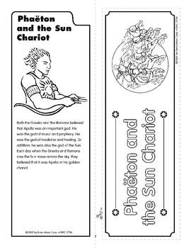 Pocket 01: Phaeton and the Sun Chariot (Greek and Roman Myths)
